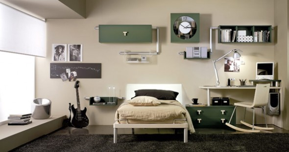 bedroom ideas minimalis boys