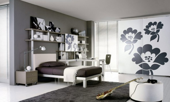 bedroom ideas minimalis girls white