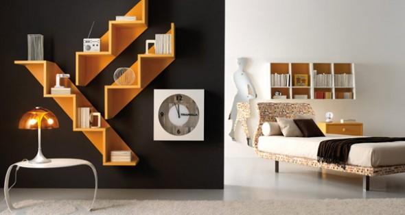 bedroom ideas minimalis yellow