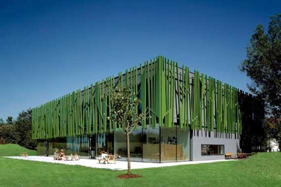 Green House Kindergarten, Modern Kindergarten Sighartstein by kadawittfeldarchitektur