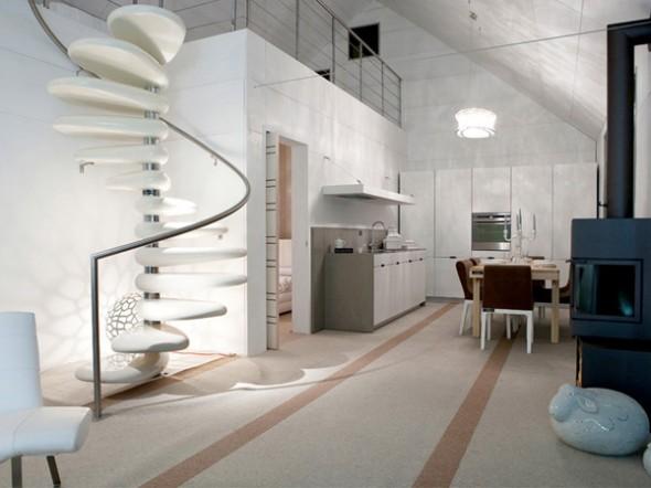 amazing subissati modern italian prefab homes interior