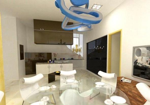 luxury villa kitchen design