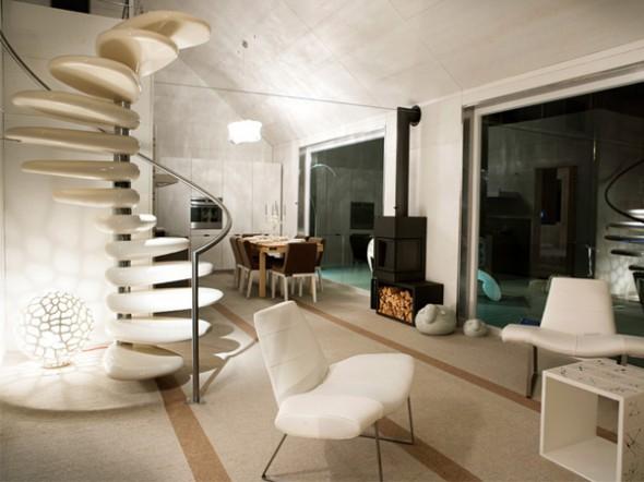 subissati modern italian prefab homes interior