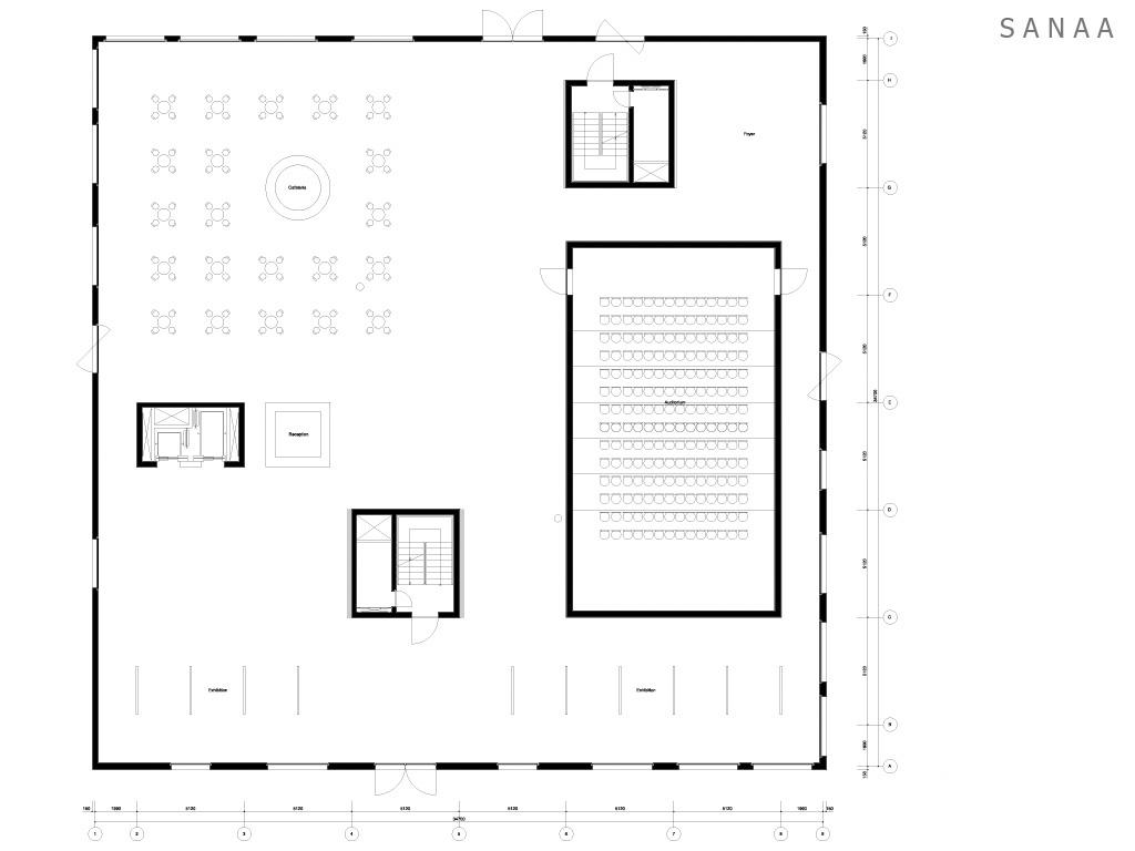 Ground Plan - Zollverein School