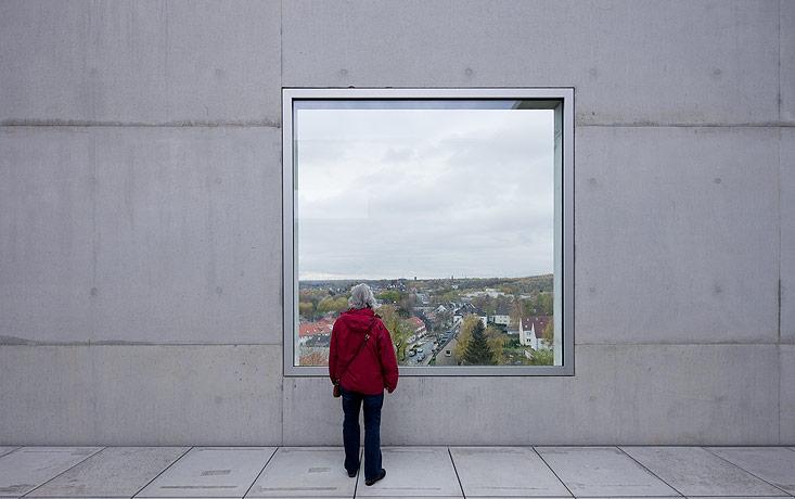 glasses window in zollverein