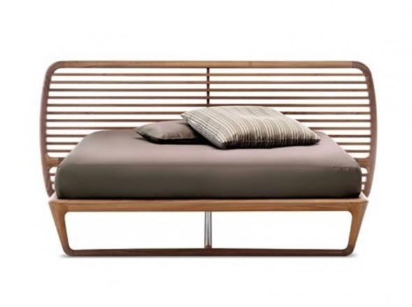 luxury walnut beds ceccotti collezioni