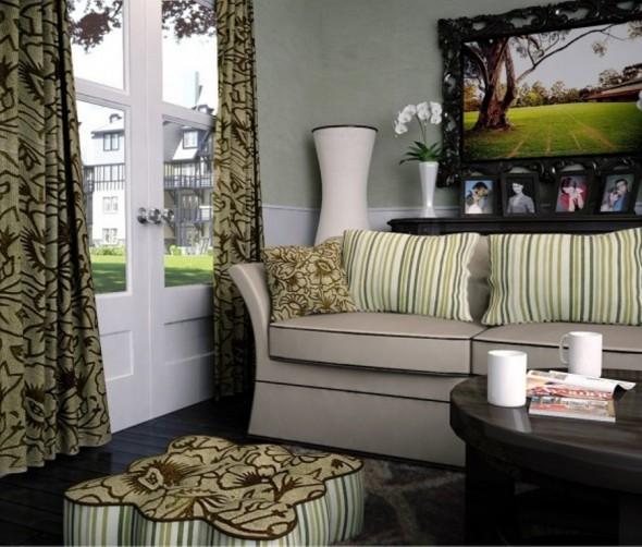 Classy Living Room By Ian