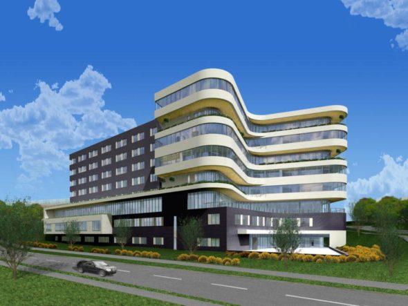 Veterans Medical Center Architecture