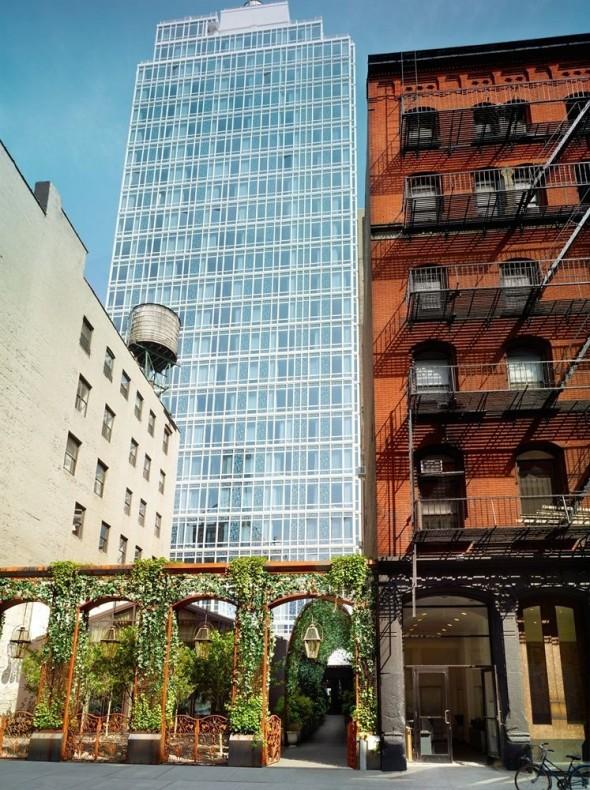 Exotic Mondrian Soho Hotel