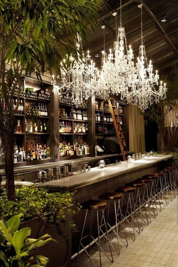 Modern Bar Mondrian Soho Hotel