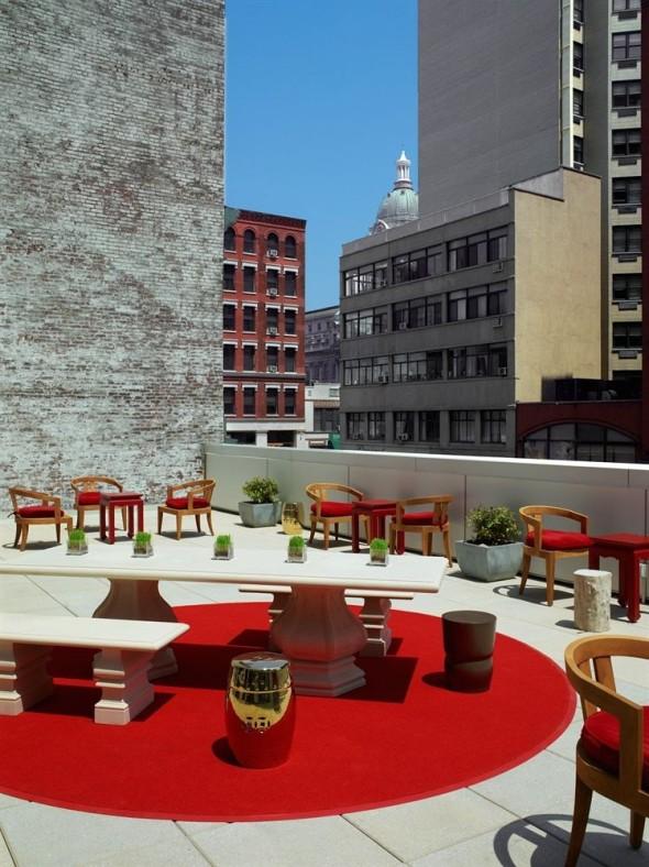Roft Top Mondrian Soho Hotel