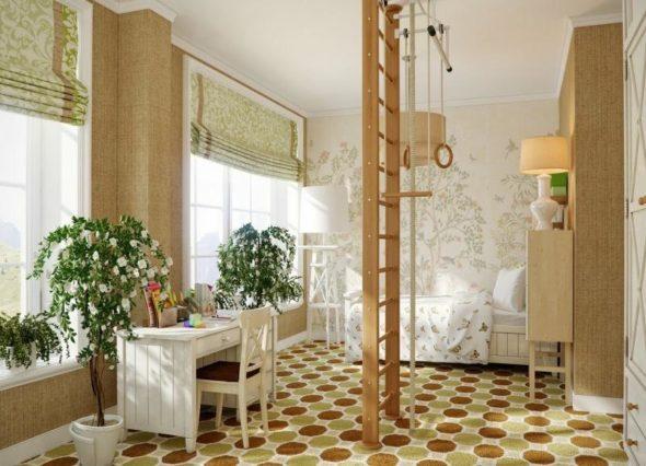 Childs neutral bedroom scheme