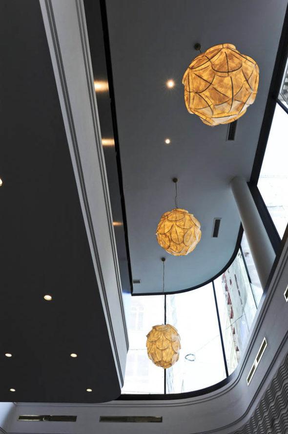Lighting - New Design Topaz Hotel in Vienna