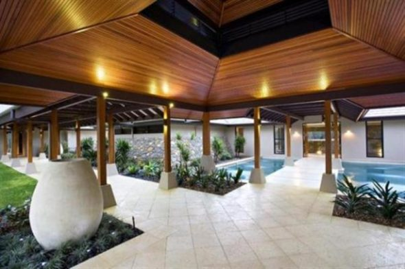 Luxury Home Design Breezeways