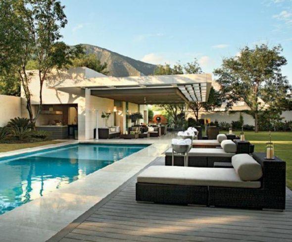 Modern Design - Outdoor Pool Ideas