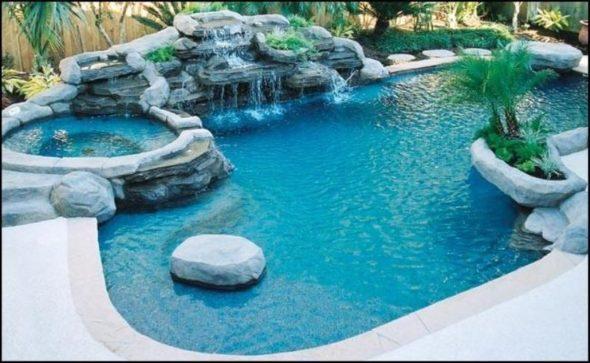 Swimming Pools Decorative Landscaping Ideasv