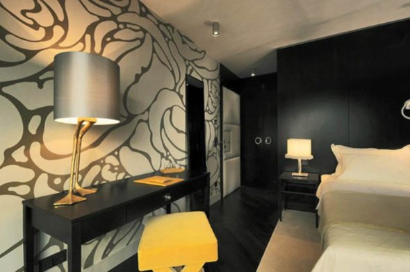 Wall decor - New Design Topaz Hotel in Vienna