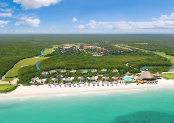 Beautiful Fairmont Mayakoba Resort