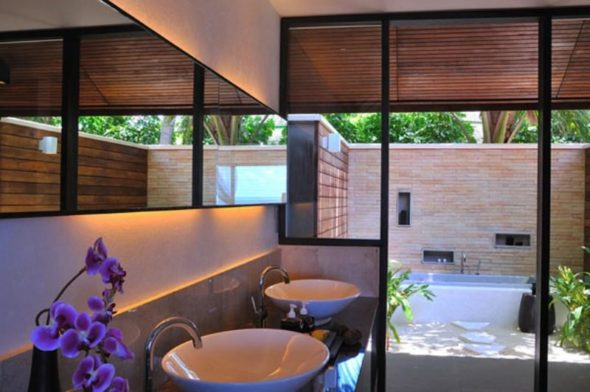 Lily Hotel Maldives - Wastafel