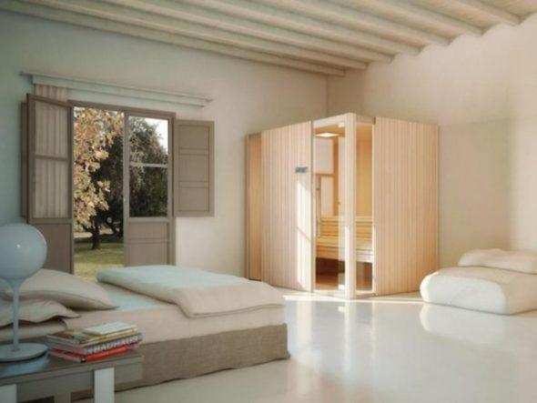 Luxuriously Designed Sauna