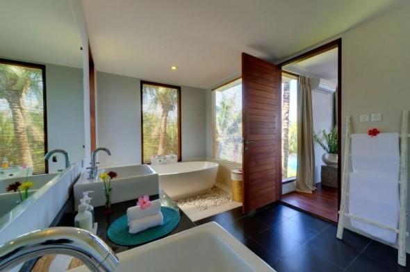Malimbu Cliff Villa - Bathroom