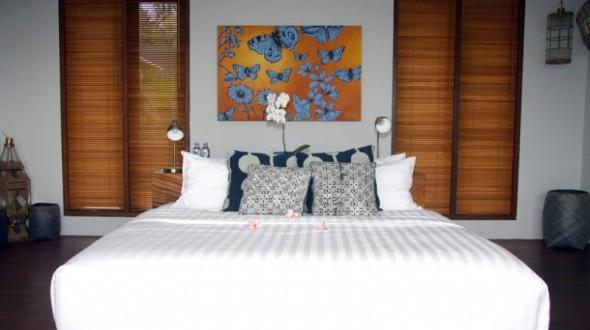Malimbu Cliff Villa - Bed