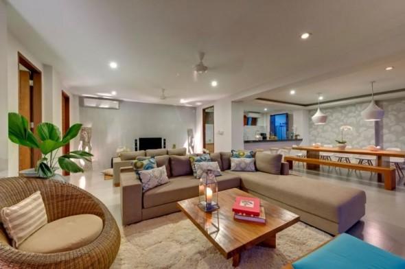 Malimbu Cliff Villa - Interior