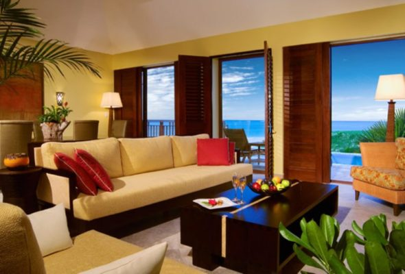 Modern Living Room - Fairmont Mayakoba Resort