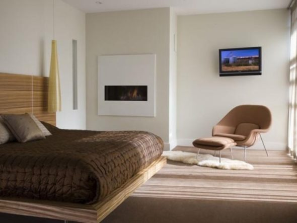 Modern Luxury House Design Bedroom