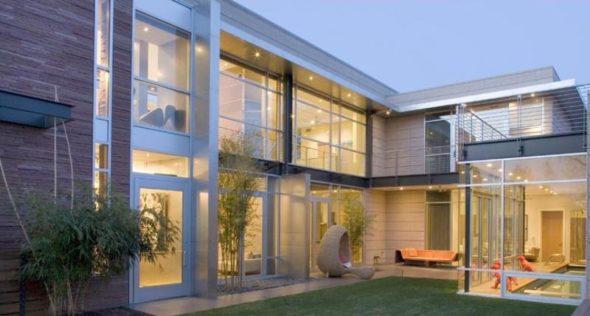Modern Luxury House Design Ceiling to Floor Window