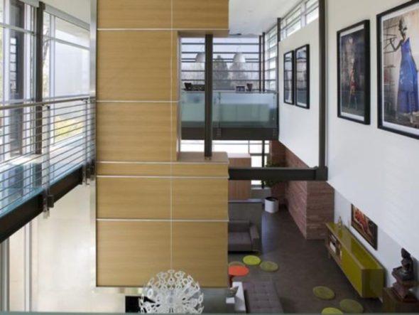 Modern Luxury House Design High Ceiling Living Room