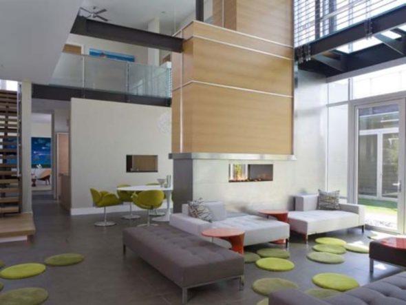 Modern Luxury House Design Living Area