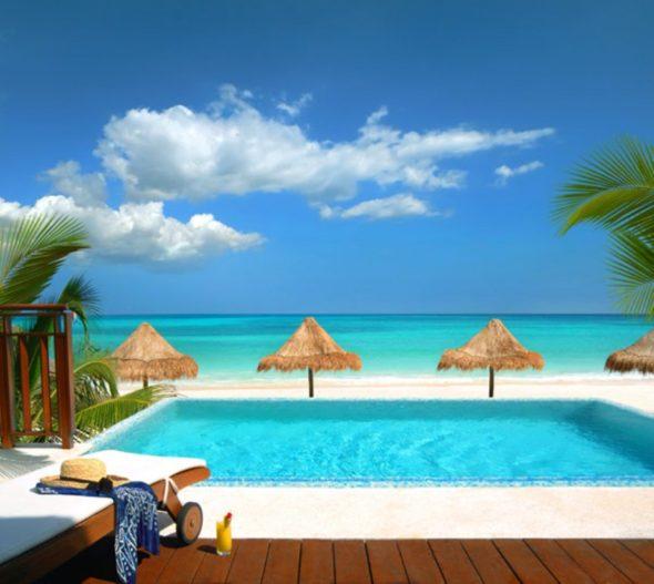 Pool Area - Fairmont Mayakoba Resort