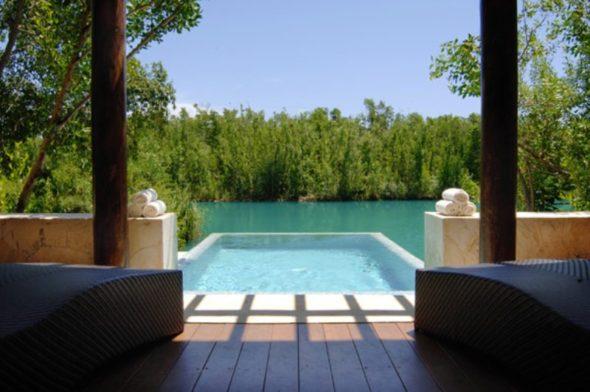 Pool - Fairmont Mayakoba Resort