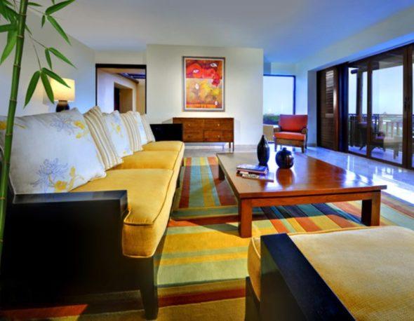 Wooden Table - Fairmont Mayakoba Resort