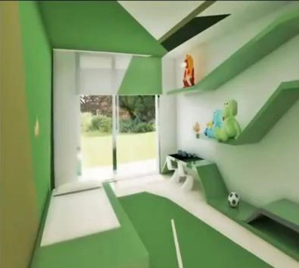 Green House Cristiano Ronaldo Mansion