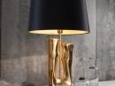 Modern Gold Abstract Lantern Lamp