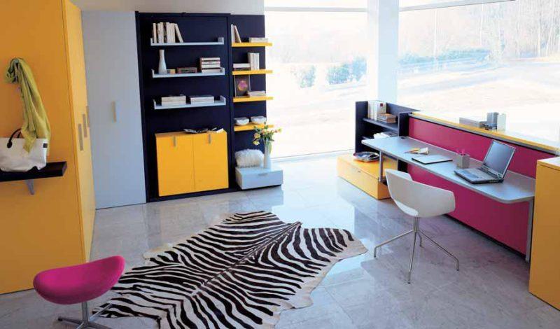 teen bedroom decor-Small Space