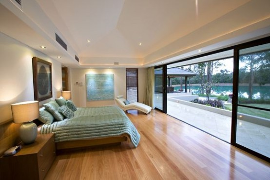 Farmhouse designs in Australia-bedroom