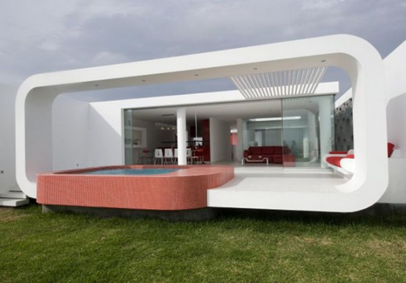 Villa Design in Peru-view