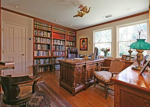 Taylor Swift Buys Beverly Hills Home-work room