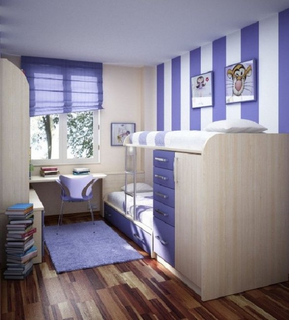 modern teen rooms