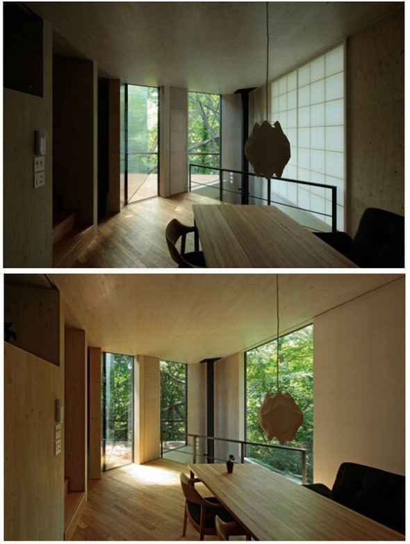 Ordinary House by Akasaka Shinichiro Atelier-wooden interior