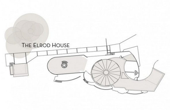 The Elrod House plans from The Bond's Movie