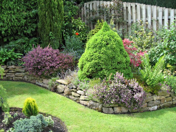 beautiful small garden