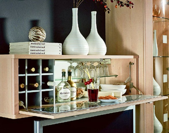simple home bar inspiration