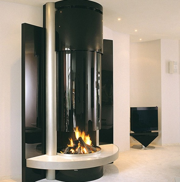 Contemporary Fireplaces Sleek Modus Design