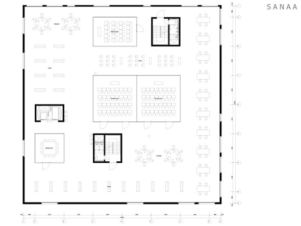 Site Plan - Zollverein School