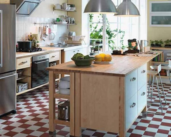 IKEA Kitchen Design wooden