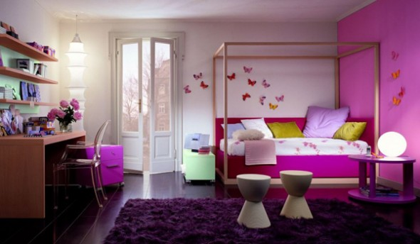 colorful bedroom furniture in interior design